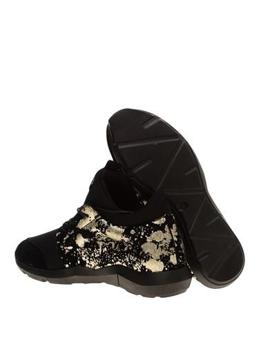 Paris Hilton Paris Hilton Siyah Kadın Koşu Ayakkabısı Siyah